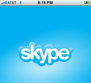 I heart iSkype (that'd be skype on your iPhone)