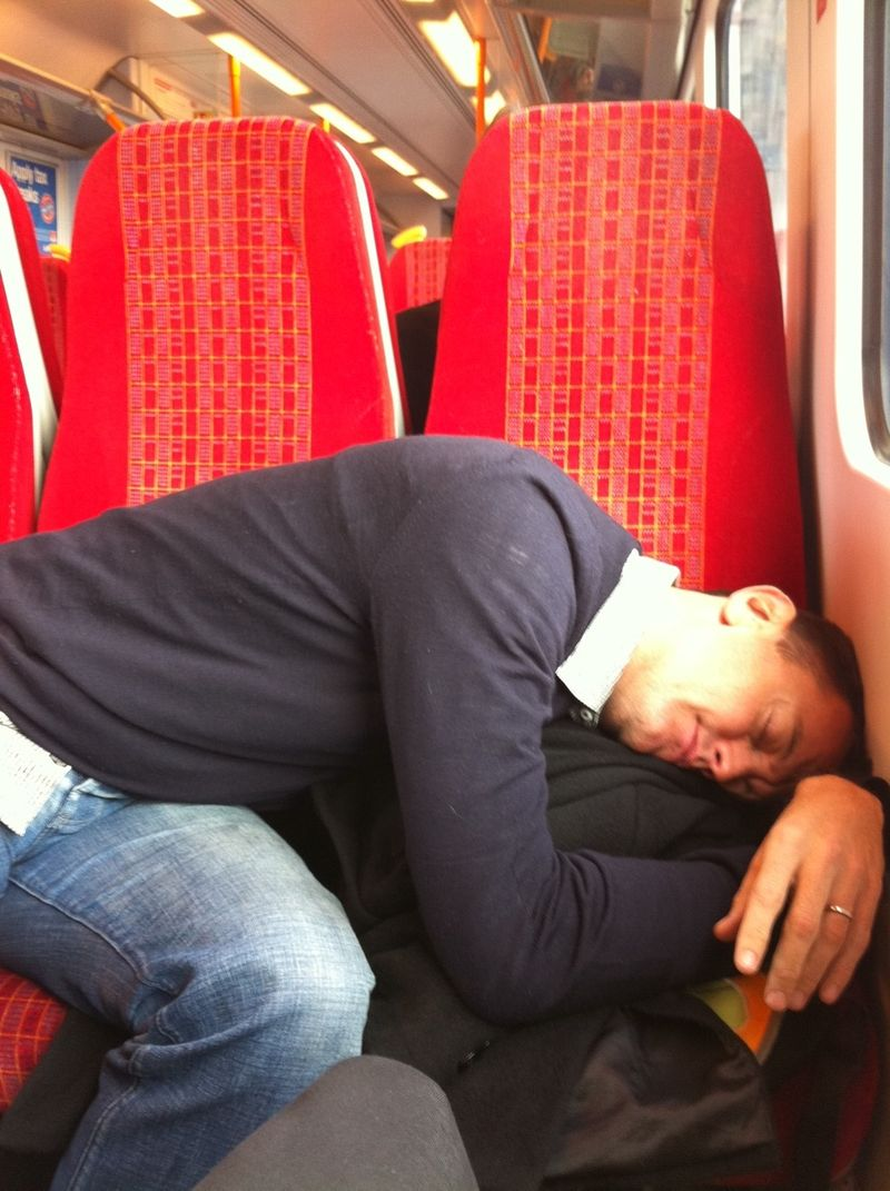 Asleep in UK